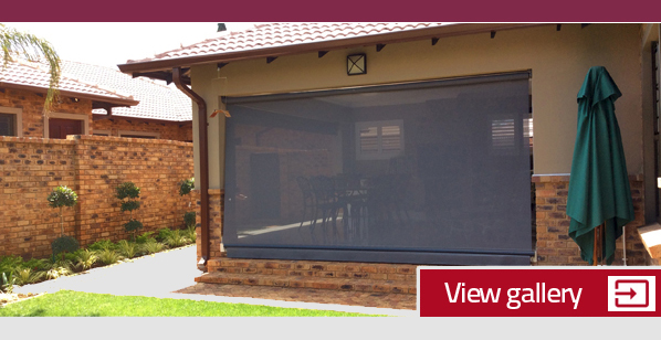Patio blinds East Rand